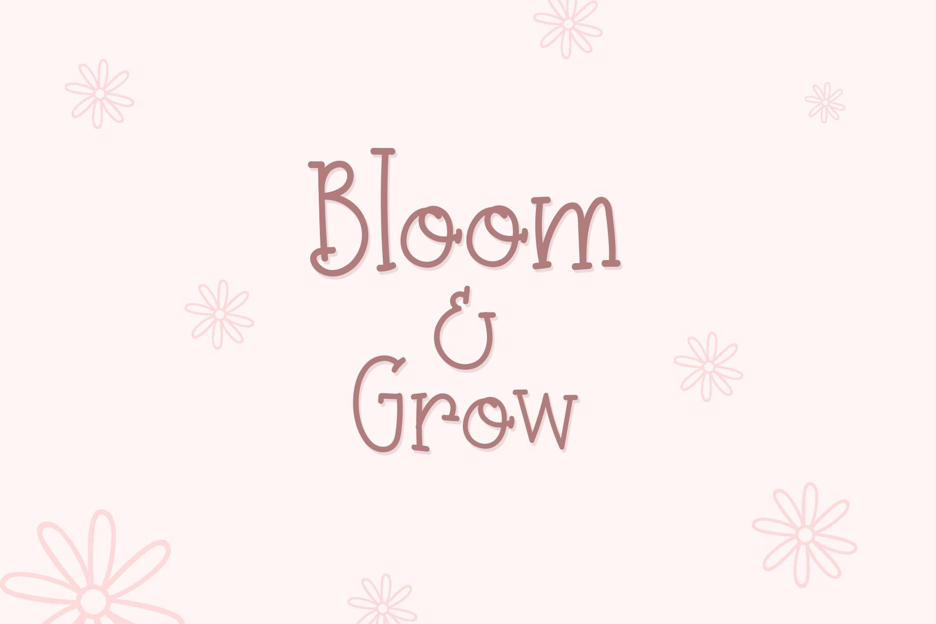 Prim Rose - Lovely Handwritten example image 4