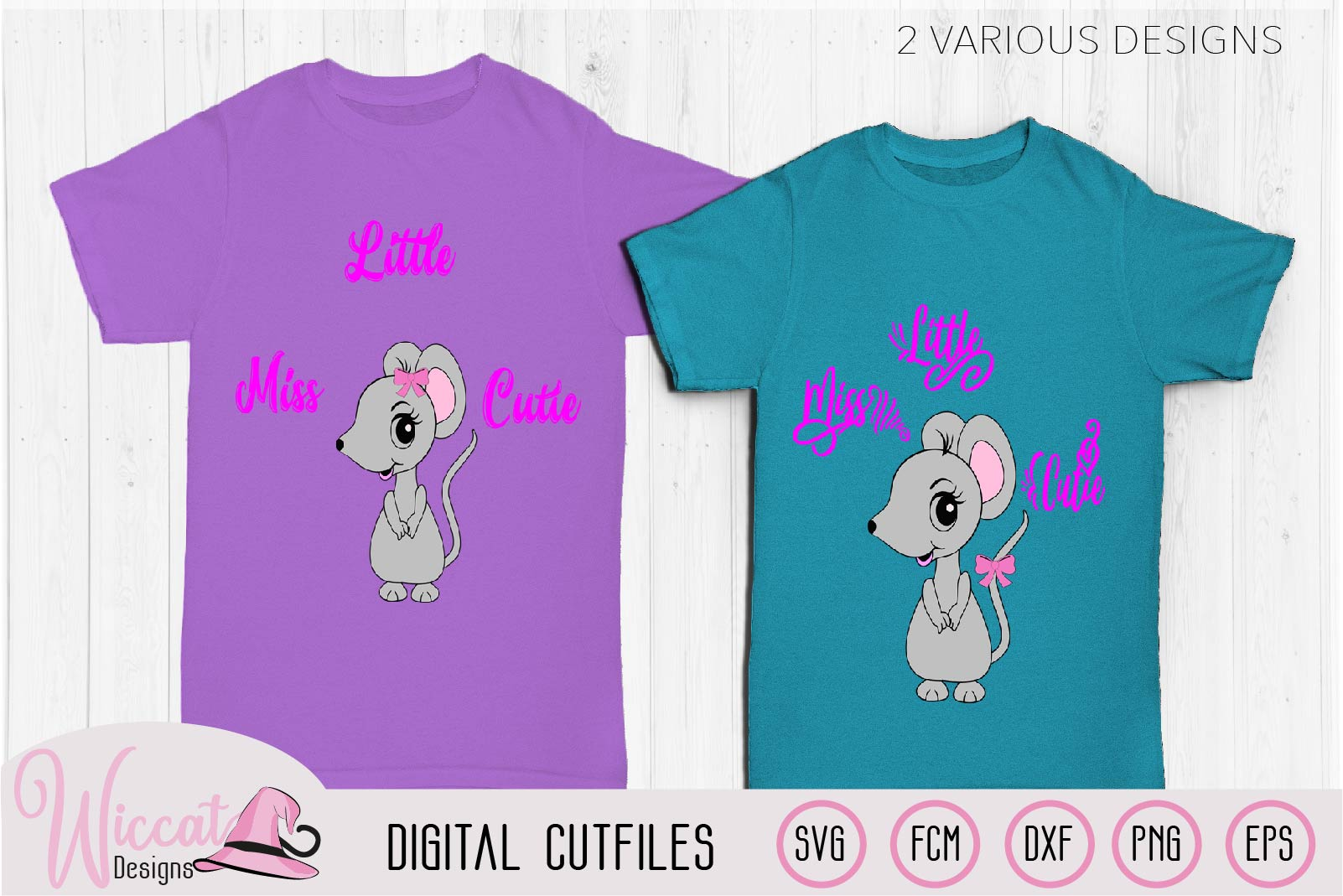 Mouse svg, Little miss cutie quote svg, example image 1