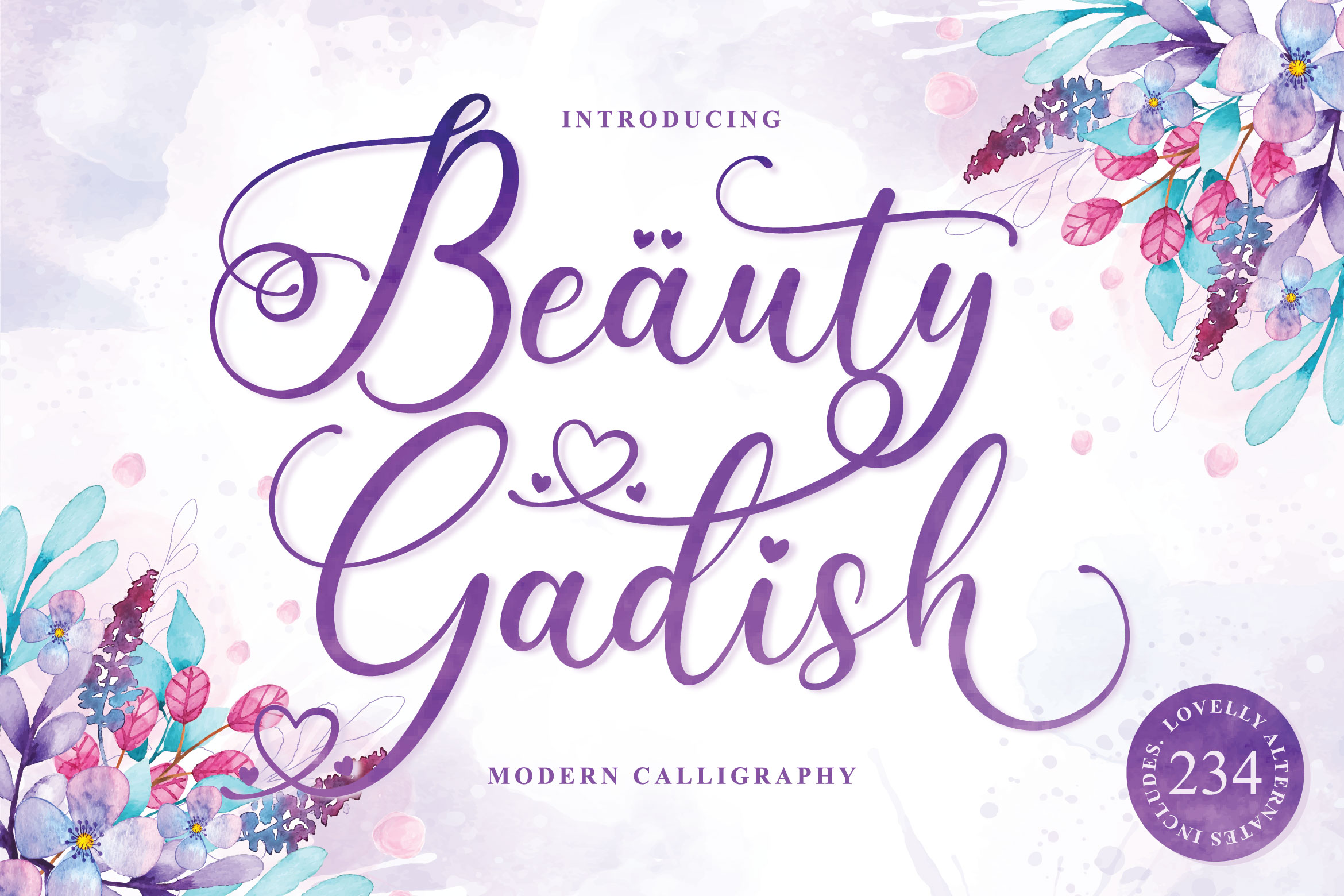 Lovely Calligraphy Collections example image 19