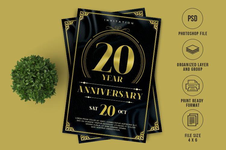 Anniversary Flyer example image 1