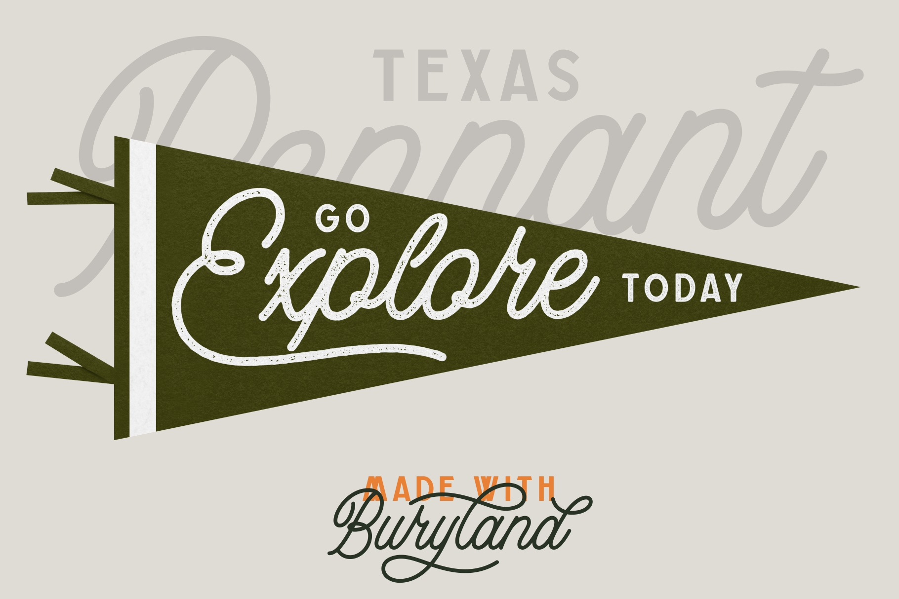 Buryland Typeface Collection example image 10