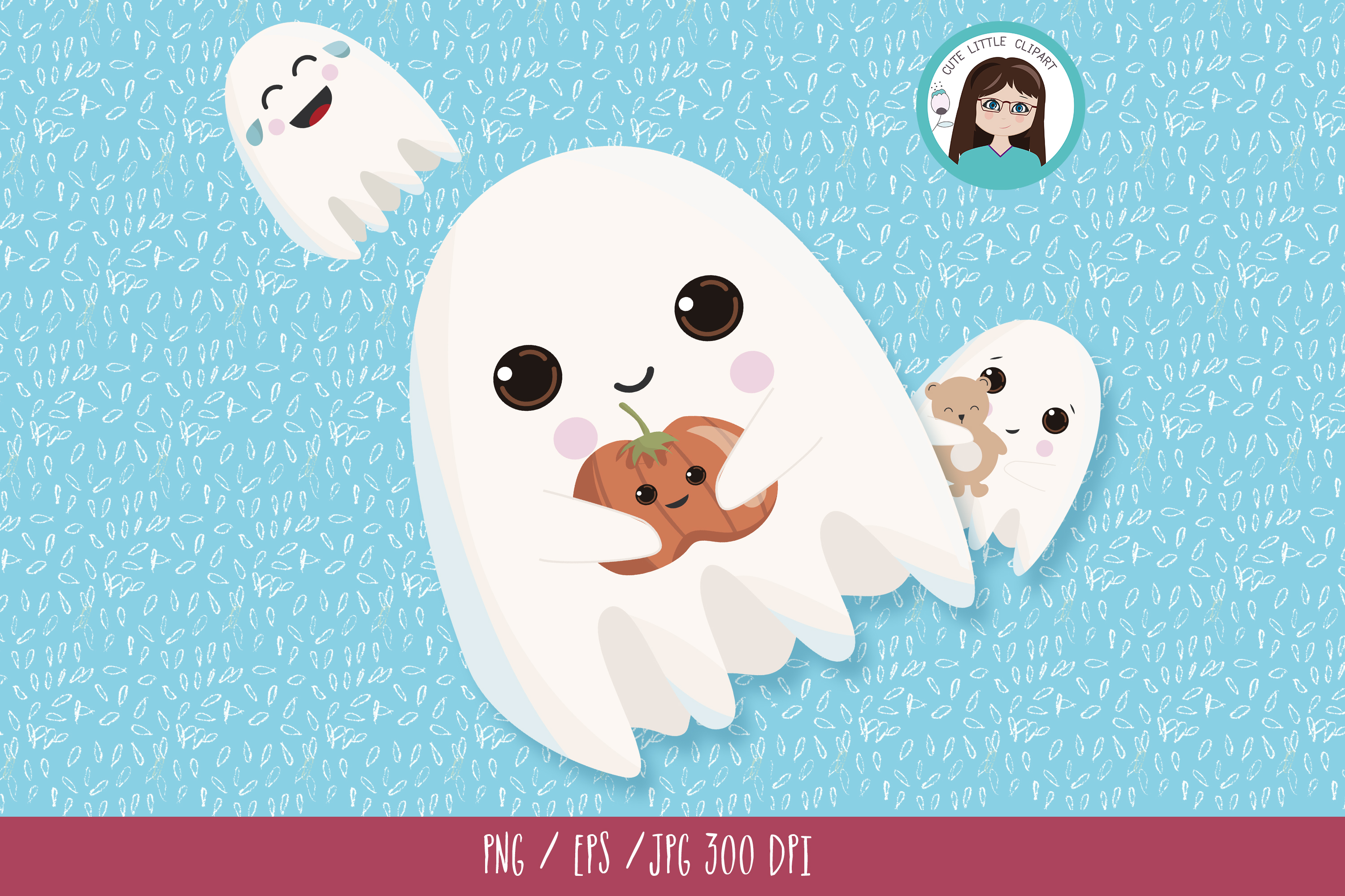 Ghost clipart example image 5