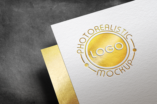 Logo Mock-Up Paper Edition example image 11