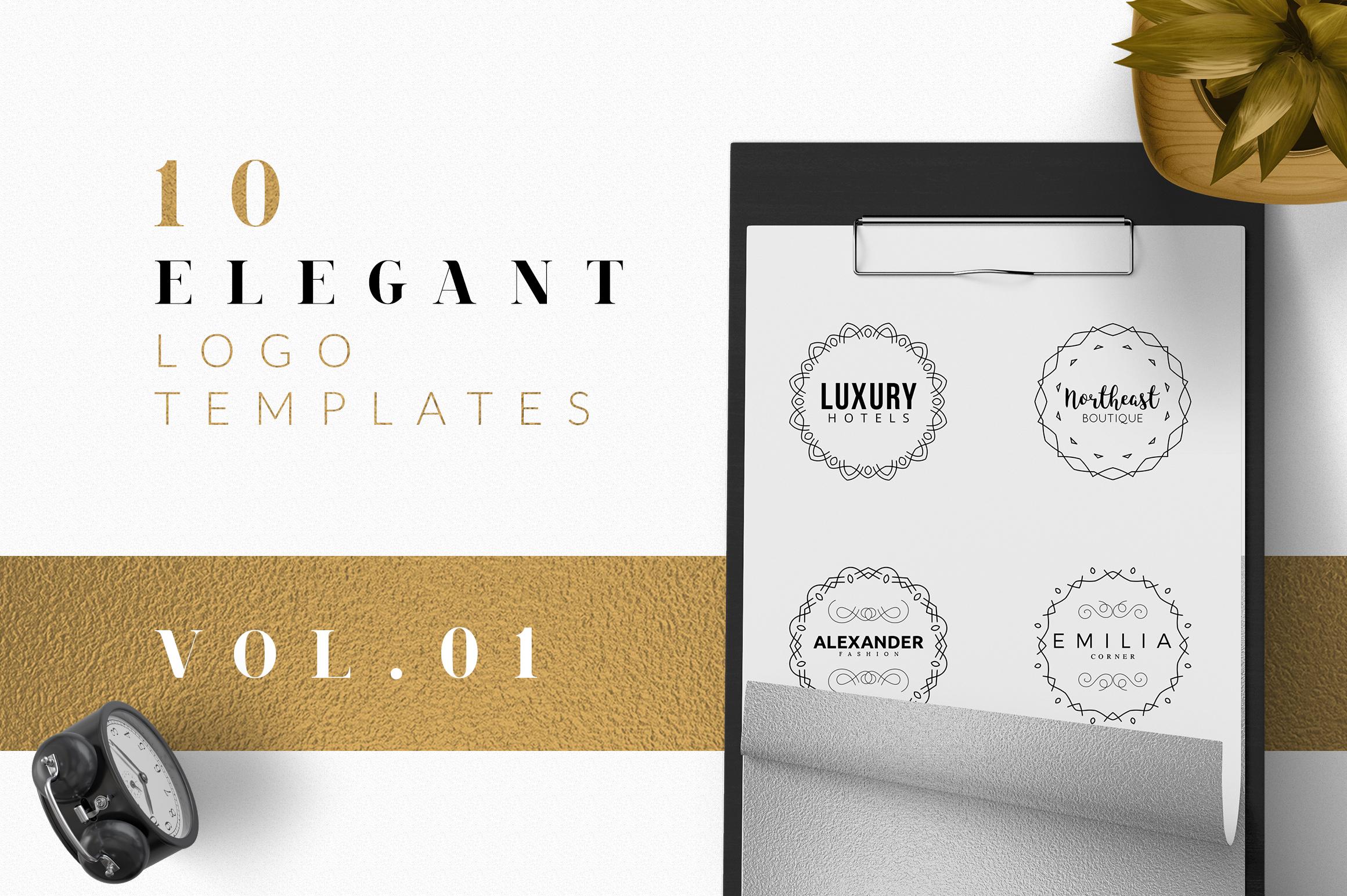 10 Elegant Logo Designs example image 1