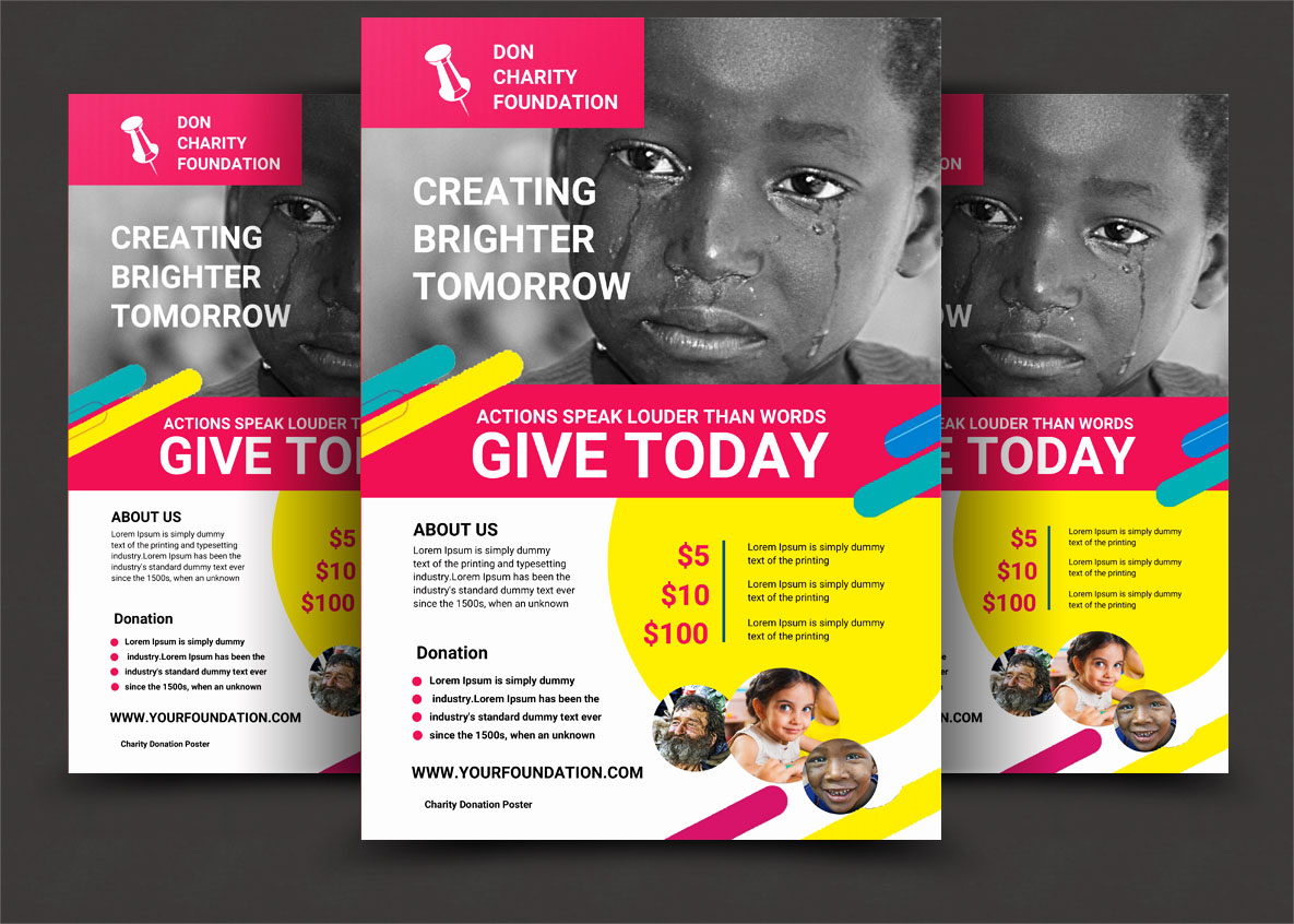 CHARITY FLYER example image 5