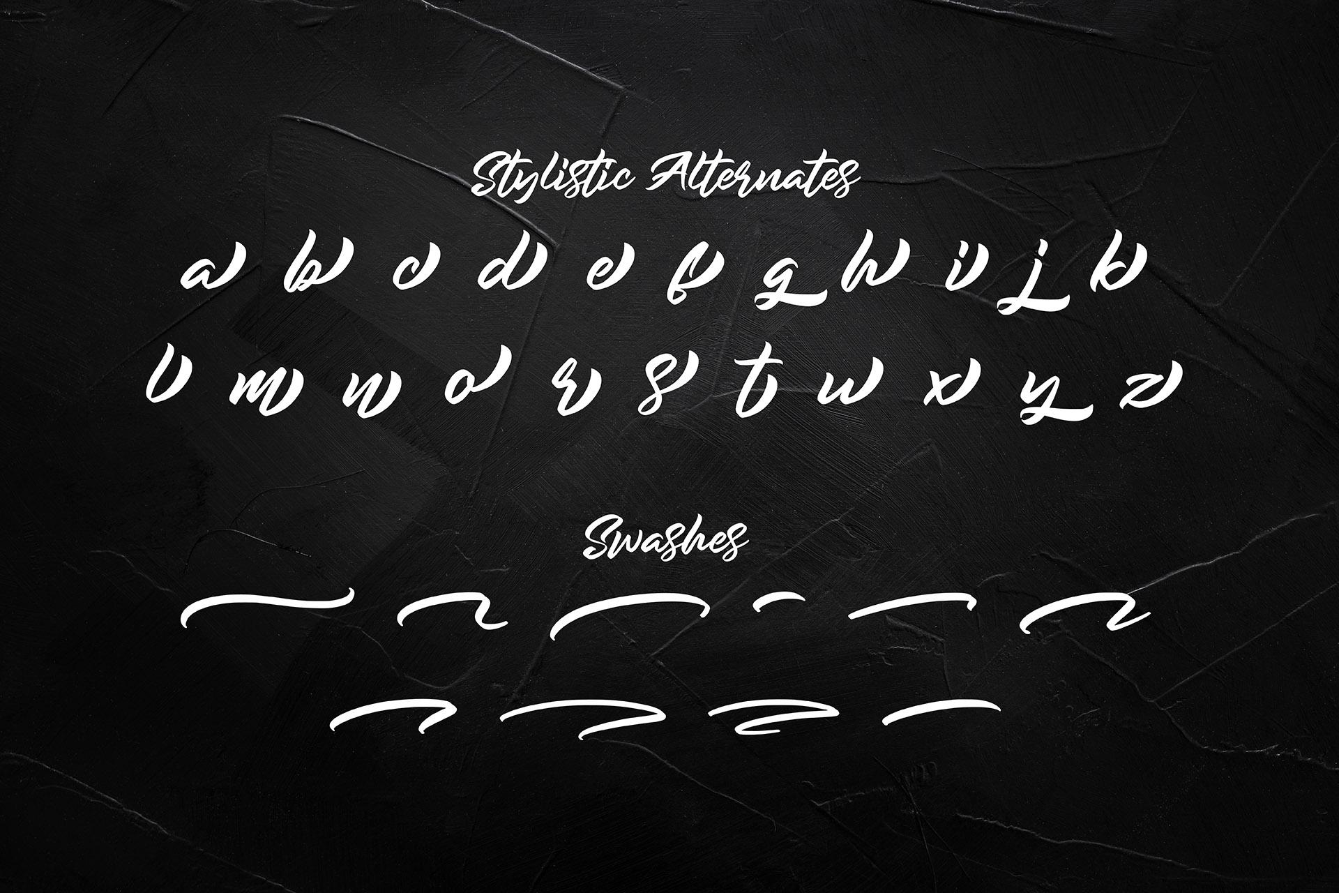 Rockmore - Authentic Bold Script example image 12