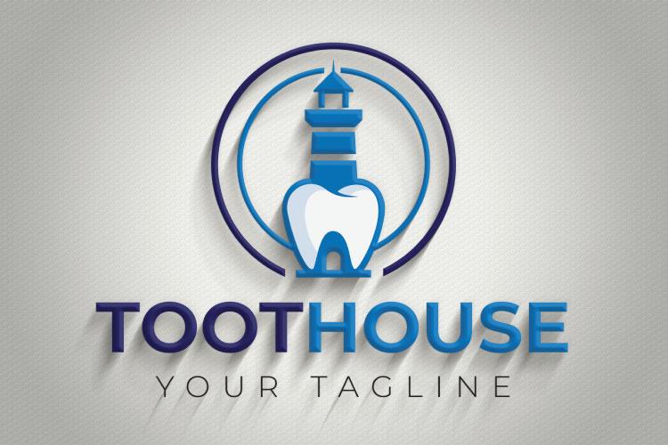 Dental, Tooth Logo Design example image 3