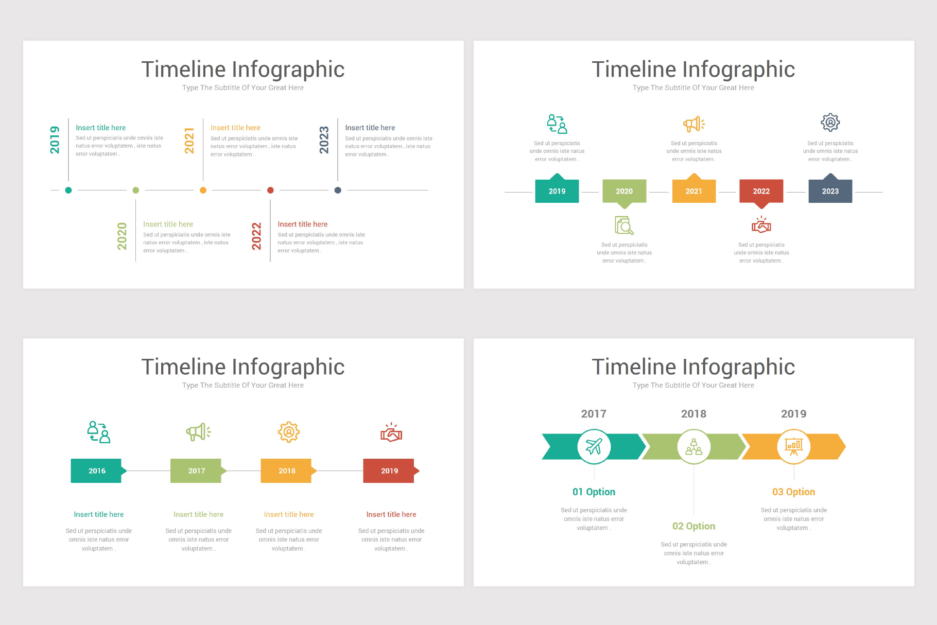 Keynote Timeline Infographics Pack-2 example image 5