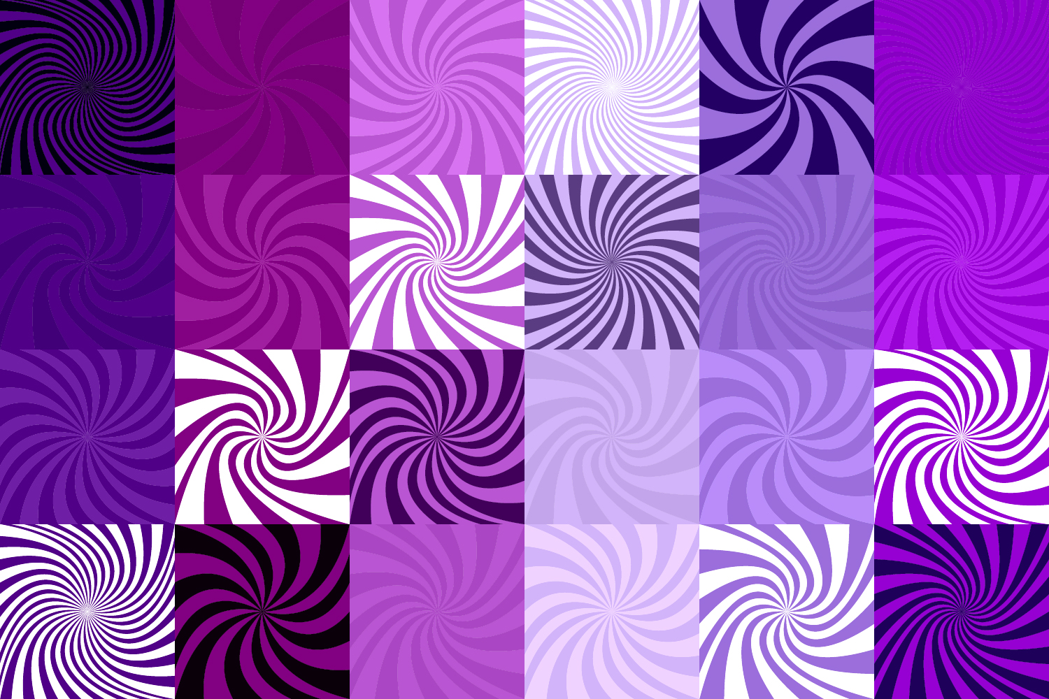 24 Purple Spiral Backgrounds AI, EPS, JPG 5000x5000 example image 4