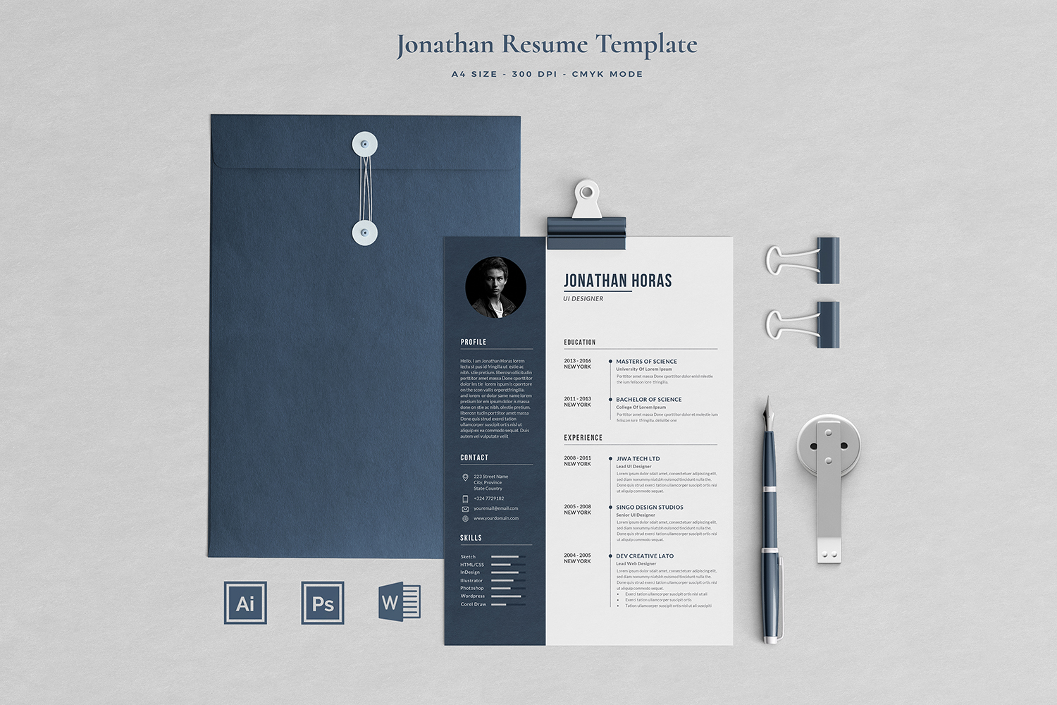 Job Seeker's Resume Bundle example image 8