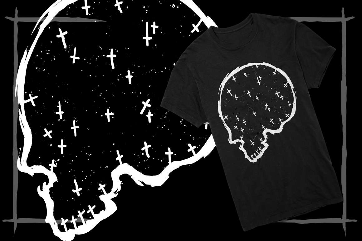 T-Shirt Designs Skull example image 7