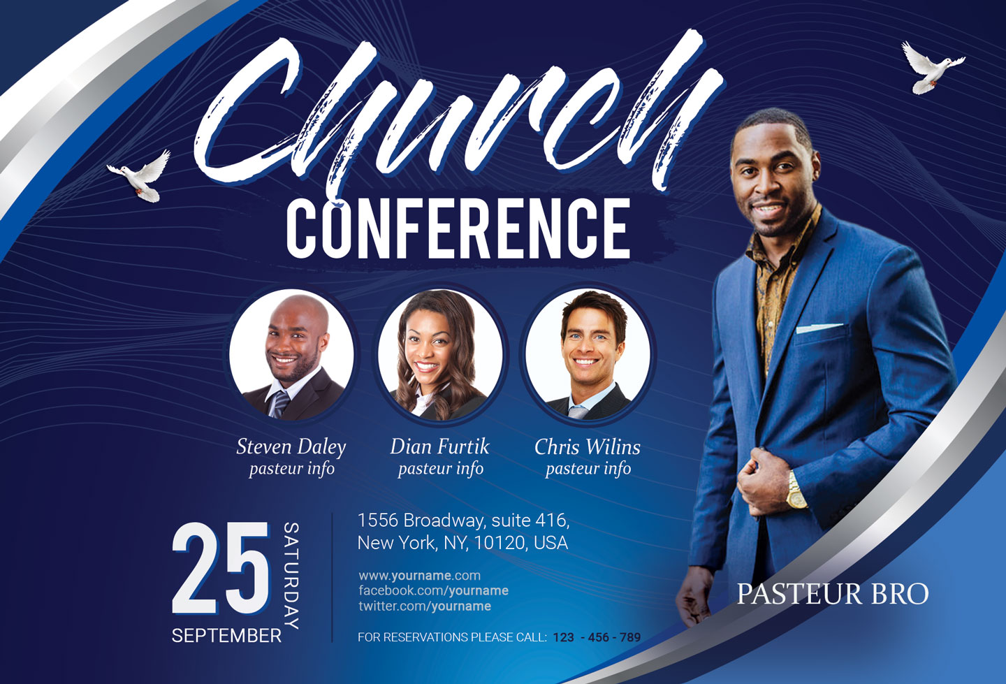 Church Conference Flyer example image 2