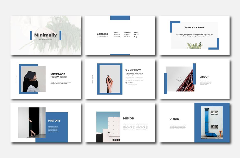 Minimally - Powerpoint Templates example image 2