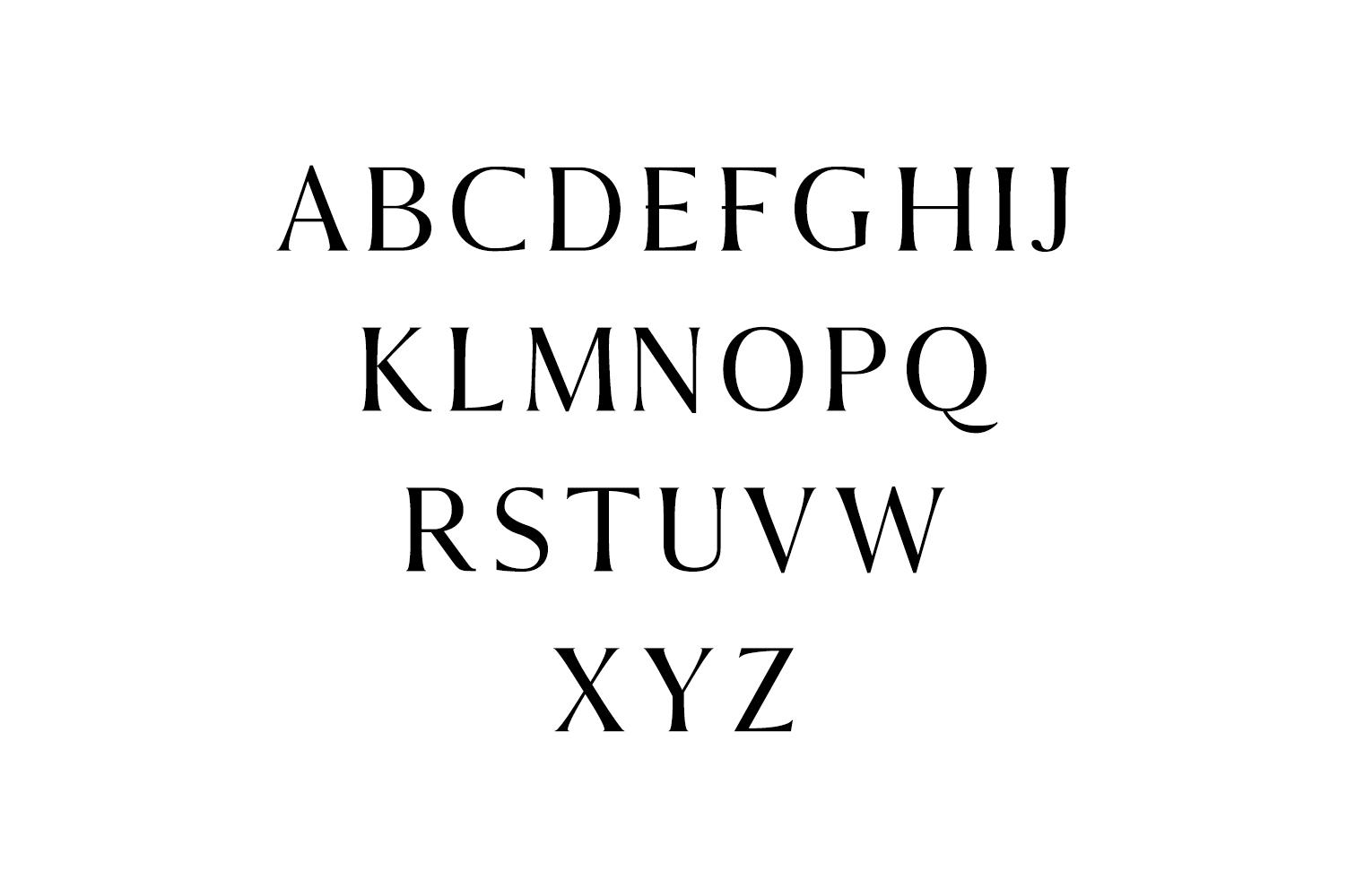 Sondra Serif Typeface example image 3