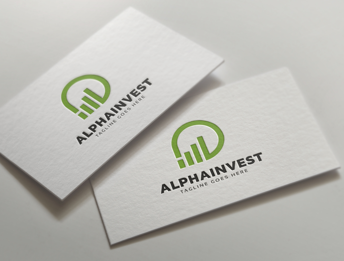 Alpha Invest Logo example image 4