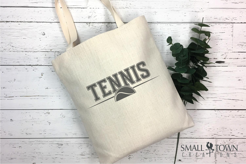 Tennis, tennis ball, Sports, Team logo, PRINT, CUT & DESIGN example image 4