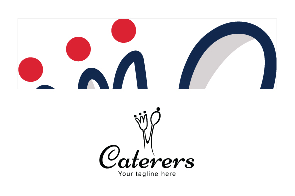 Caterers - Simple Iconic Stock Logo example image 3