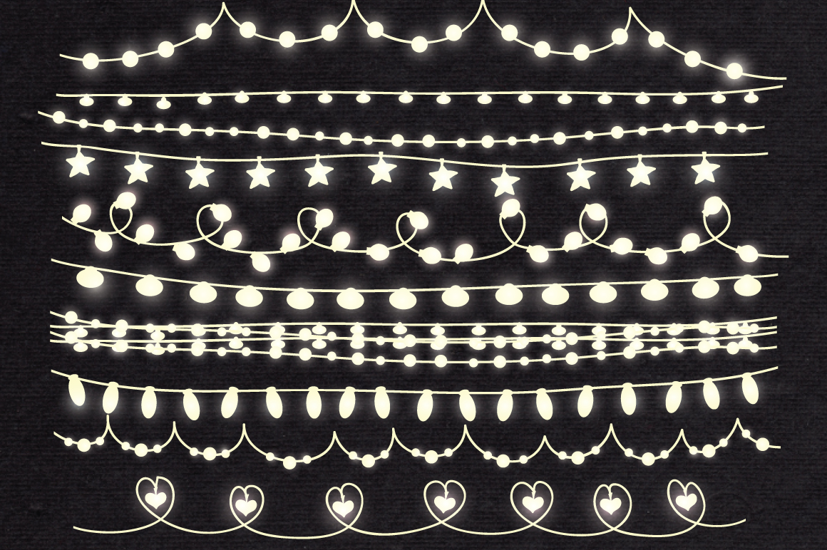 String Lights Clip art example image 3