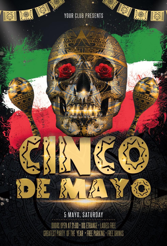 Cinco de Mayo Flyer example image 3