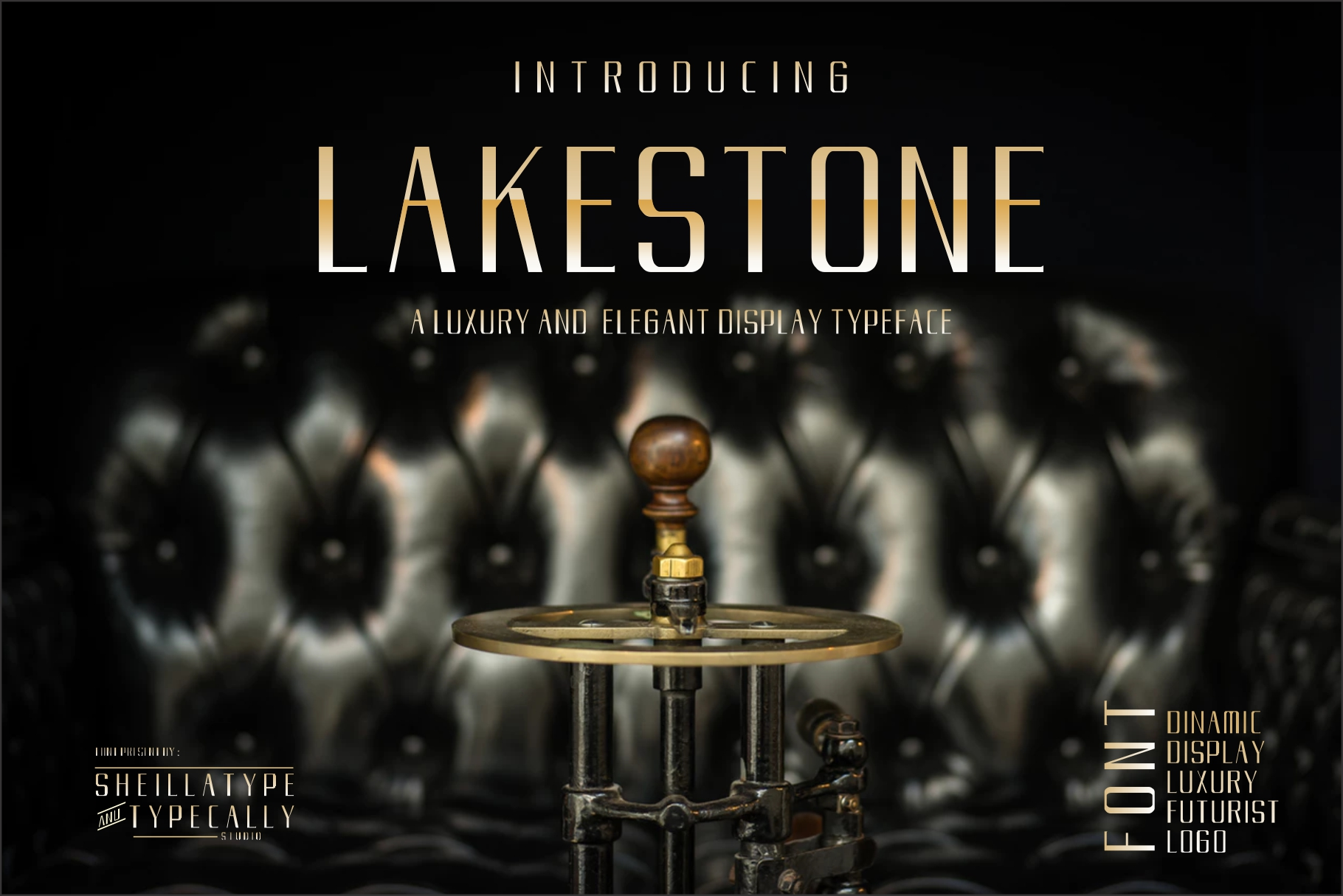 LAKERSTONE - A LUXURY AND ELEGANT CLEAN TYPEFACE example image 2