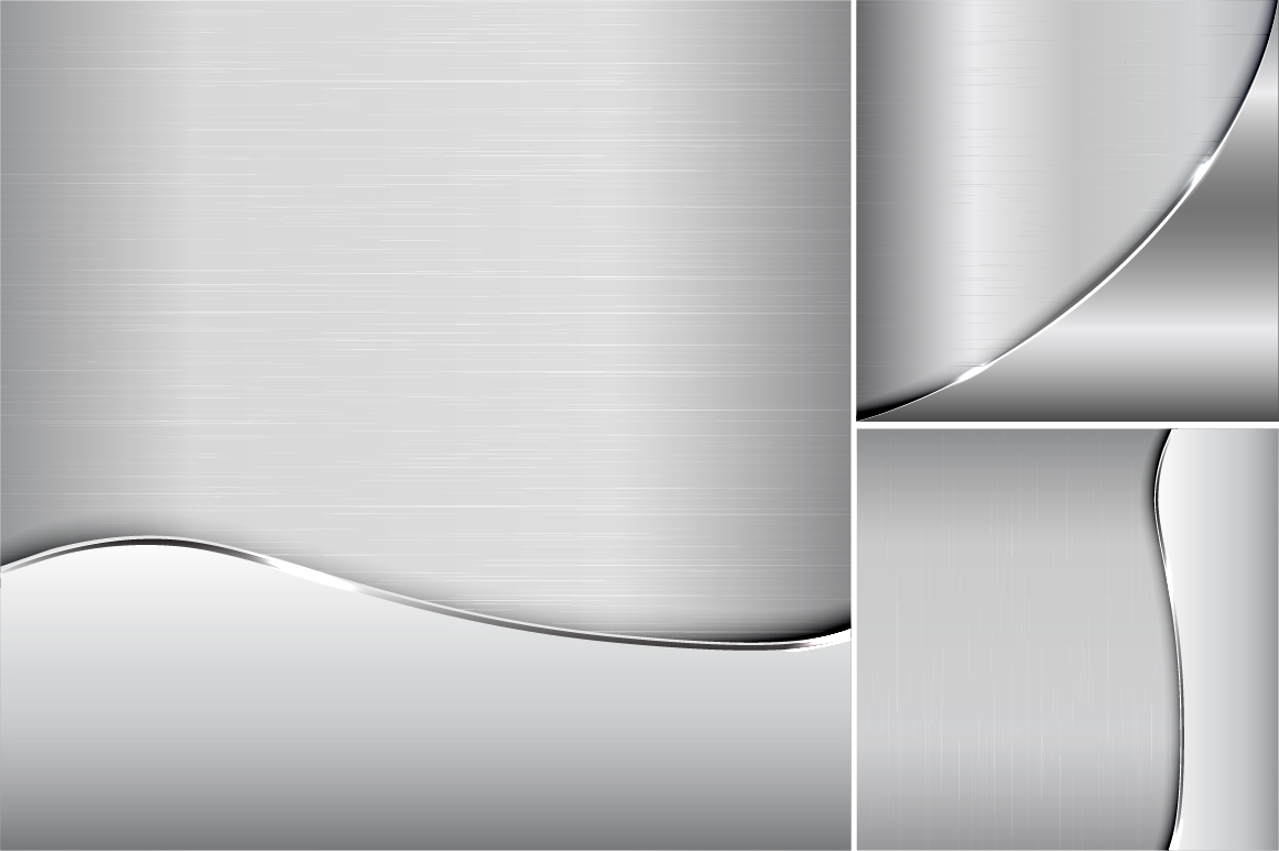 Collection of metallic backgrounds. example image 4