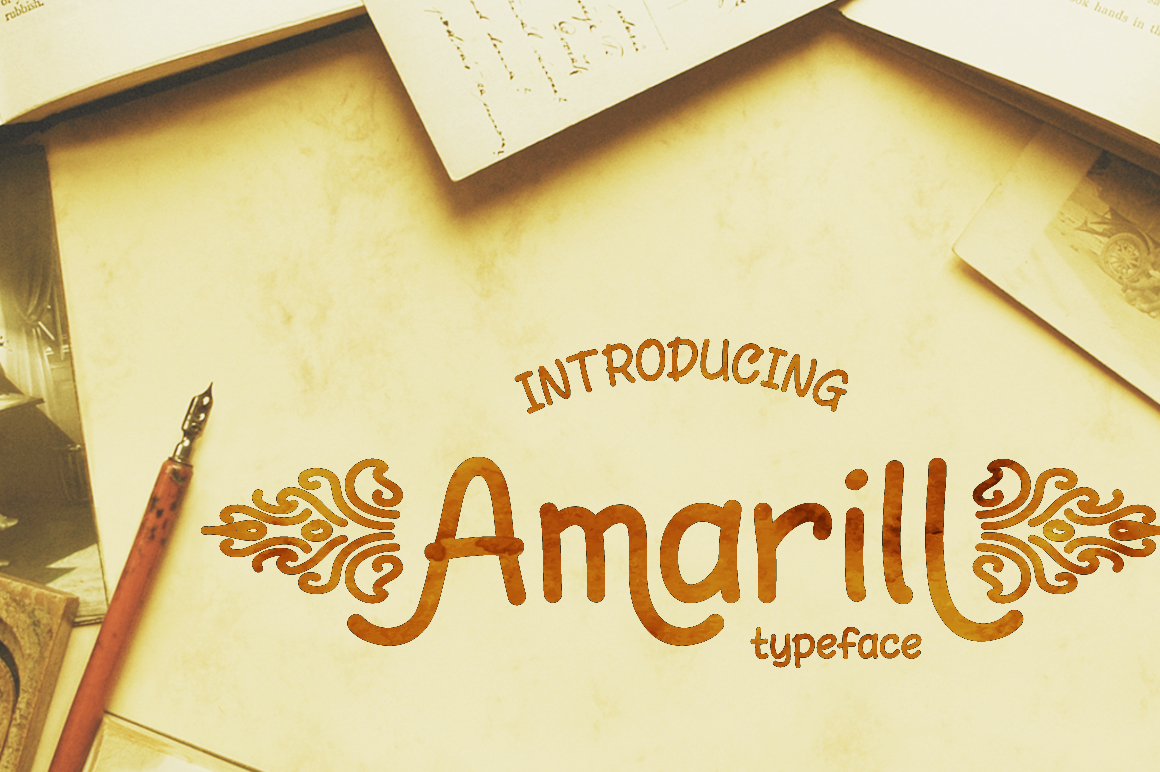 Amarill Font example image 1