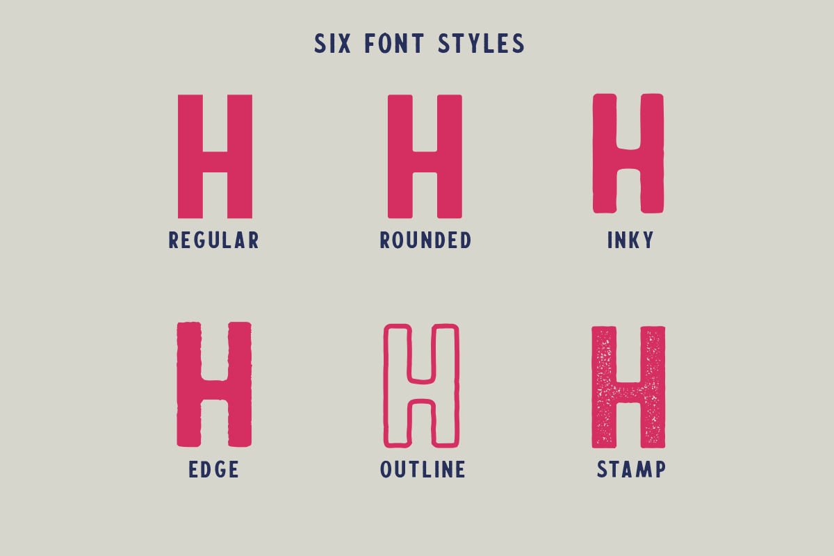 Calderock Typeface Extras  example image 4
