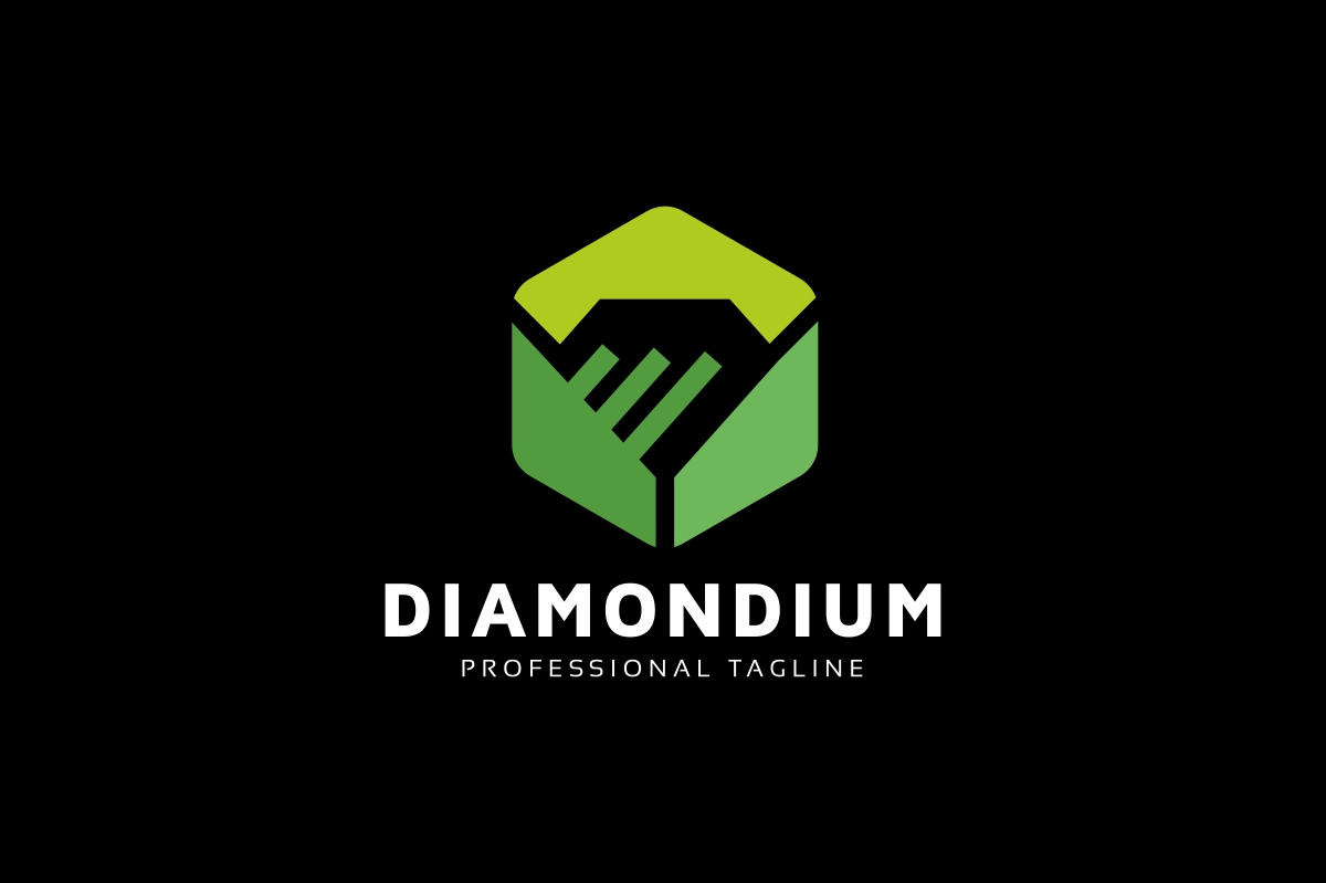 Diamond Connection Logo Template example image 2