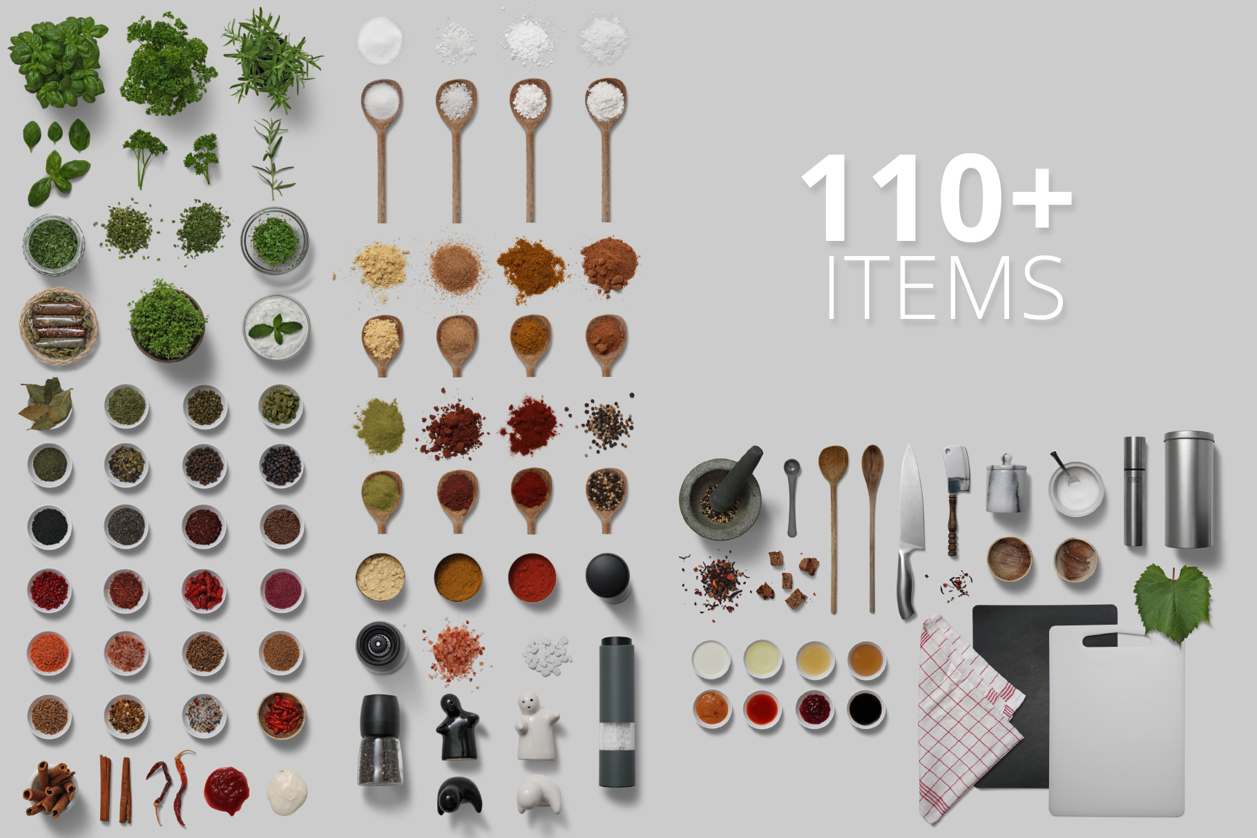 Herbs & Spices - Isolated Food Items example image 2