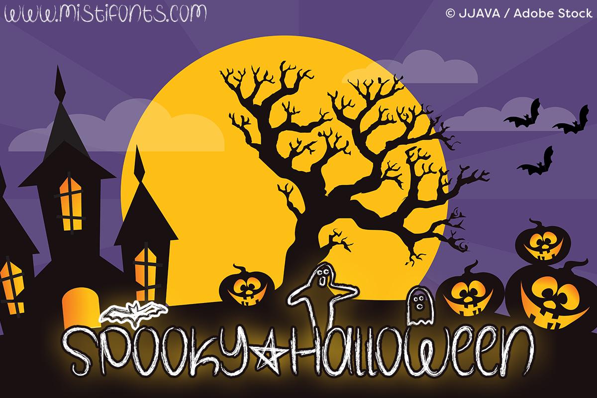 Spooky Halloween example image 1
