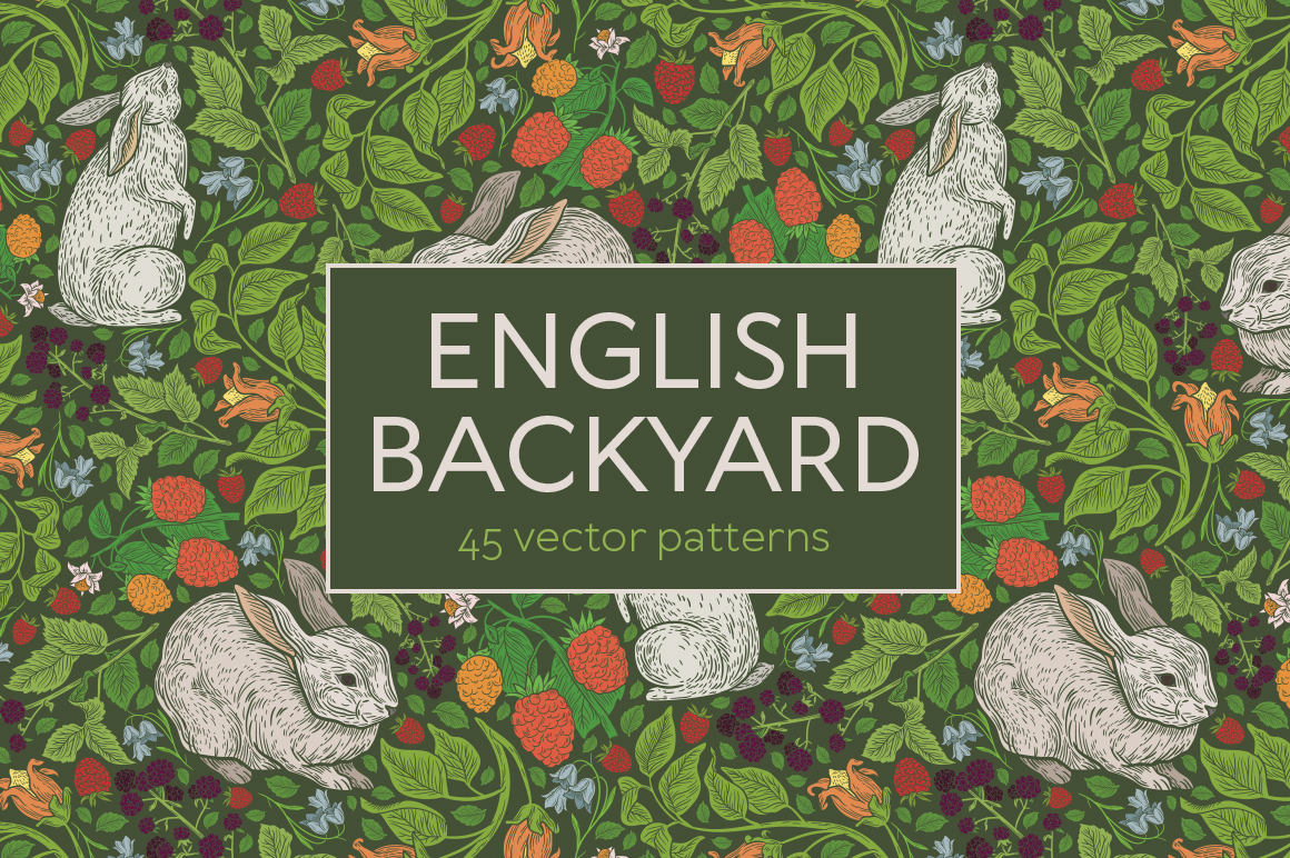 English Backyard patterns example image 8