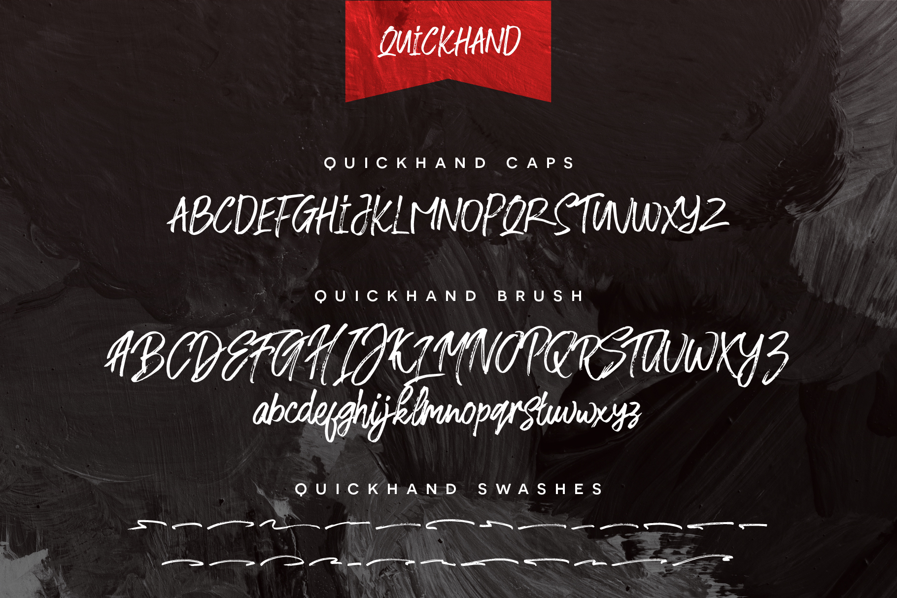 Quickhand Font Duo example image 6
