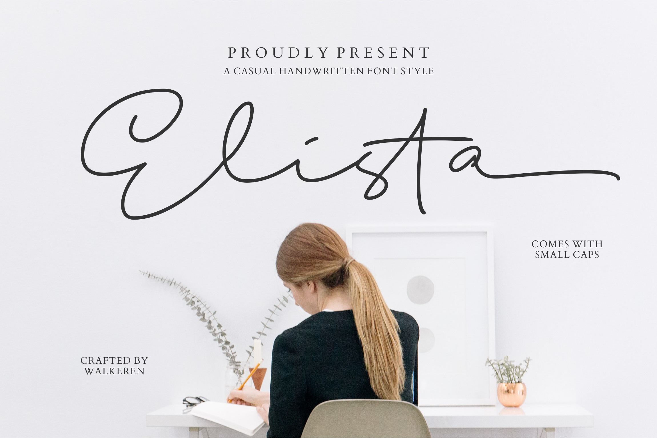 Elista - A Casual Handwritten Font example image 1