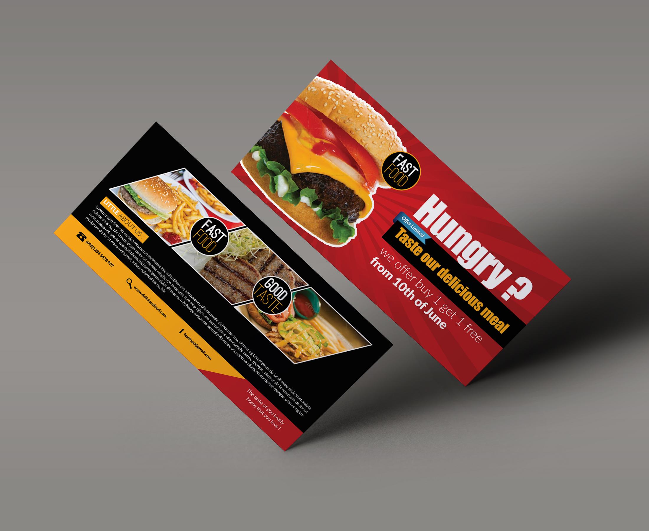Food & Restuarant Gift Vouchers example image 2