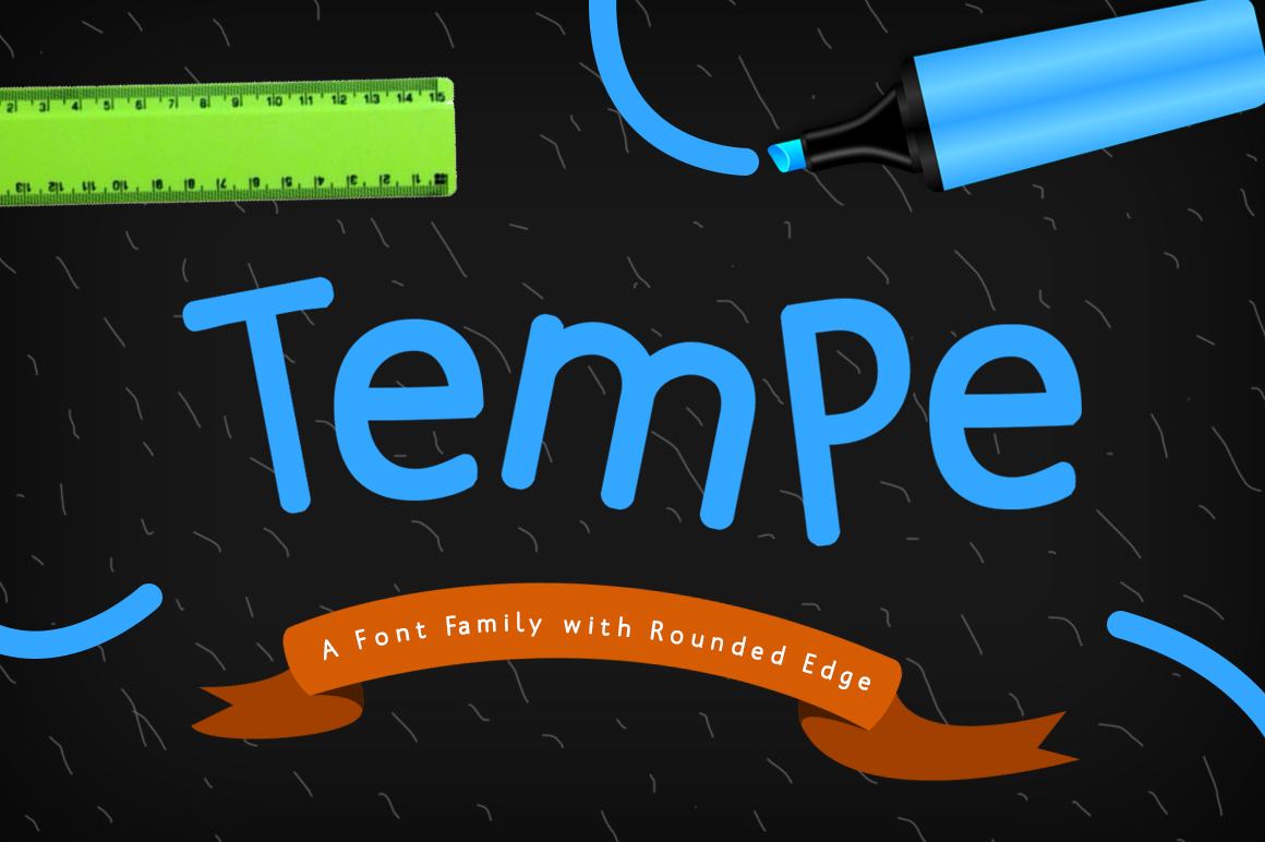 Tempe Font example image 1