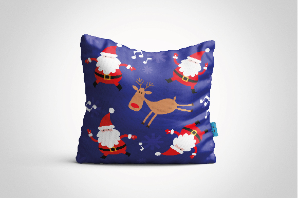 Christmas Patterns Collection. 12 of the jpeg files in resolution 4167*4167 px and 12 files eps8. example image 4