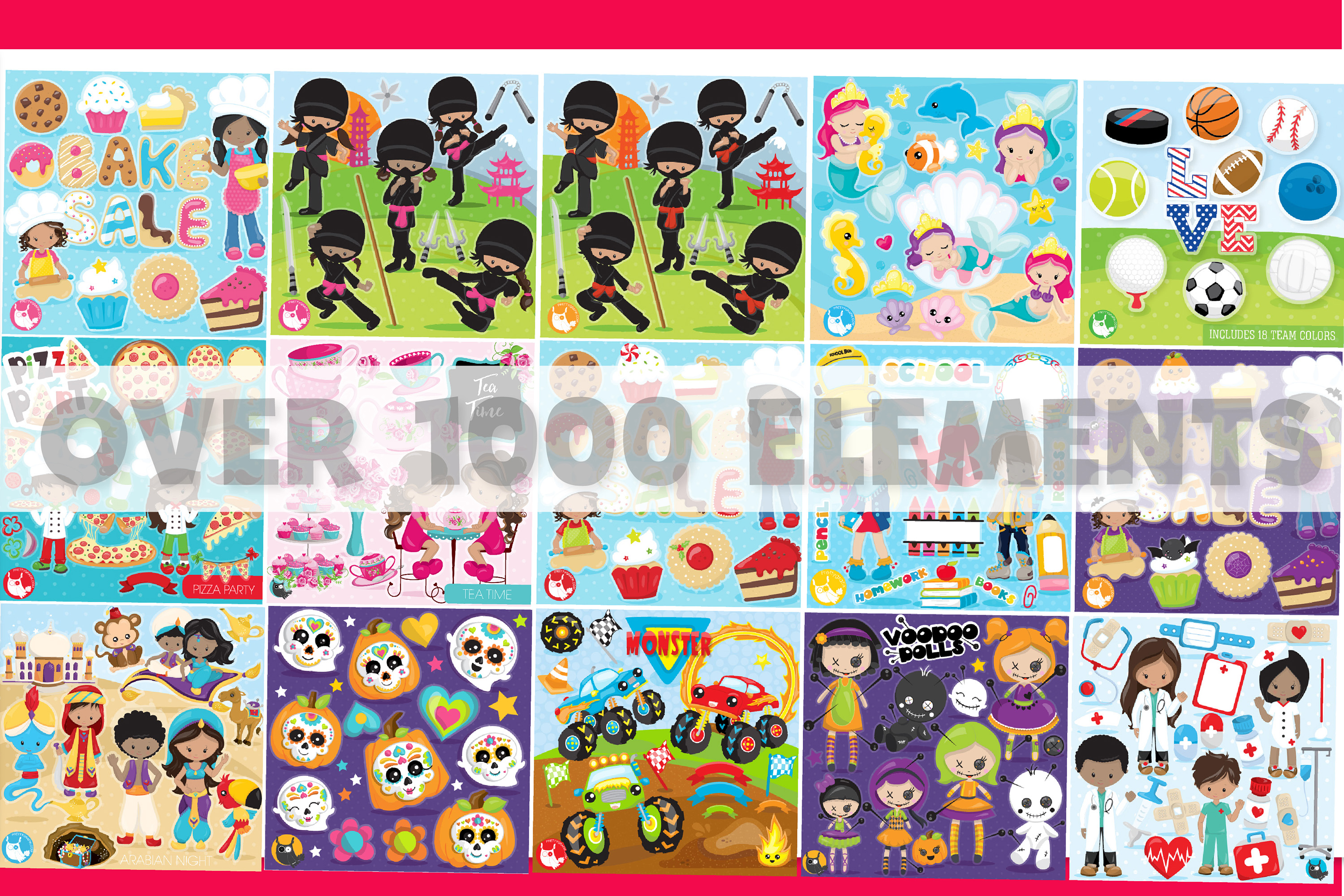 MEGA BUNDLE PART15 - 40000 in 1 Full Collection example image 3