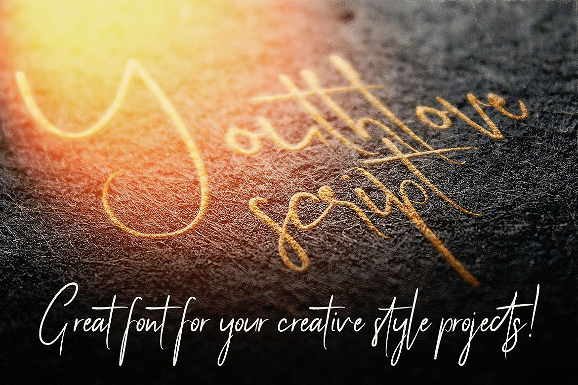 Youthlove Script Font example image 4