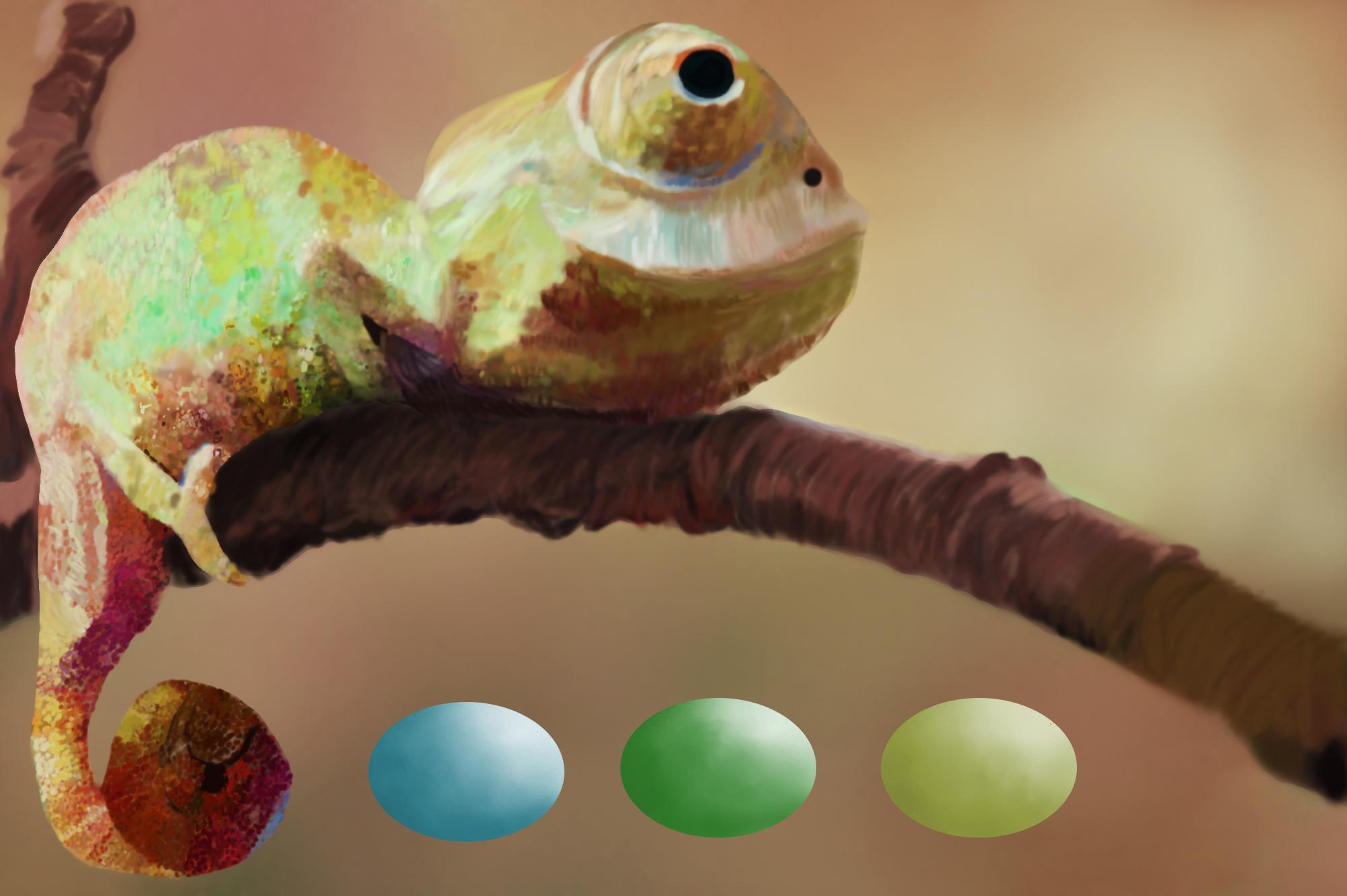 Chameleon Swatches example image 2