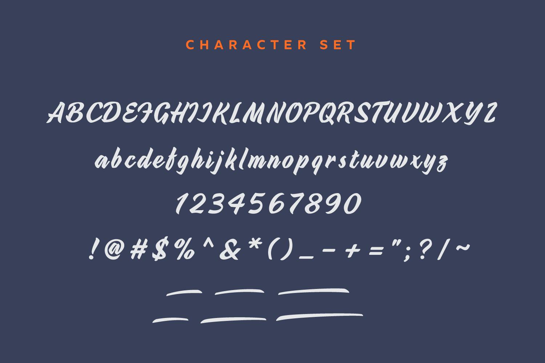 Urbax Script Font example image 6