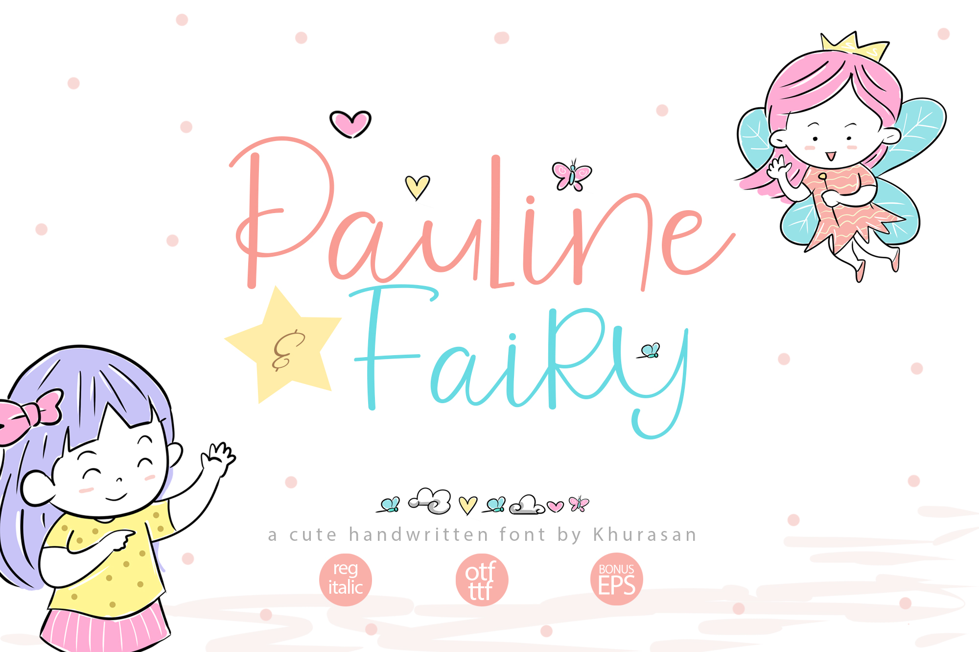 Pauline and Fairy Font example image 1