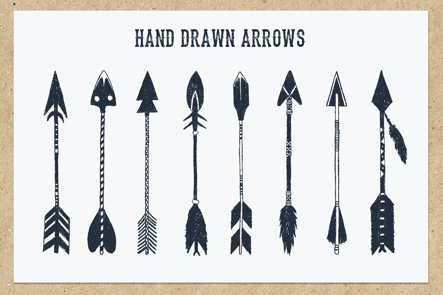 Native Spirit. 55 Hand Drawn Objects example image 7