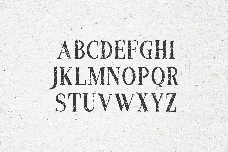 Croak Typeface example image 2