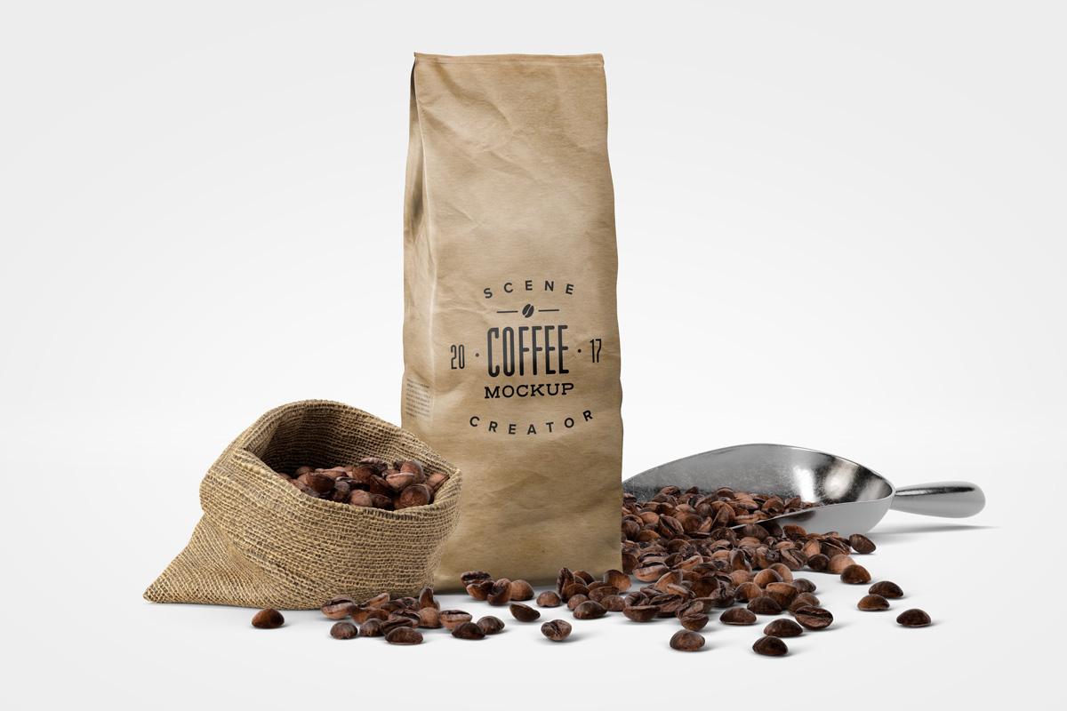 Coffee Mockup Scene Creator example image 7