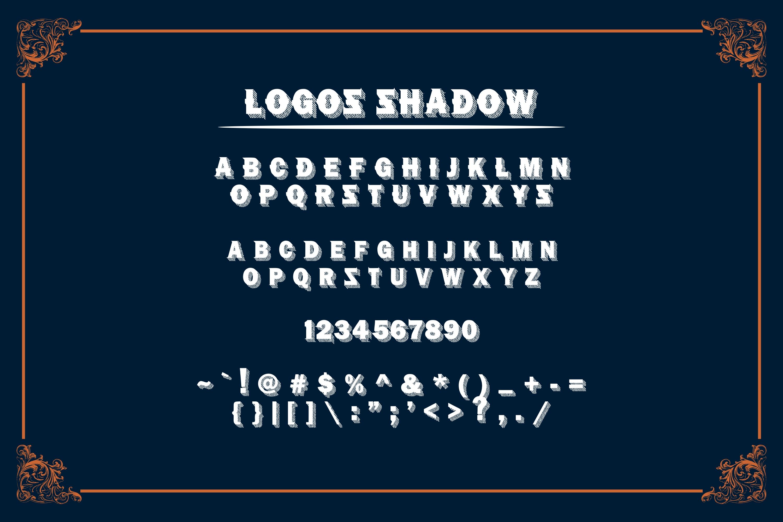 LOGOS | 5 Font Logo example image 10