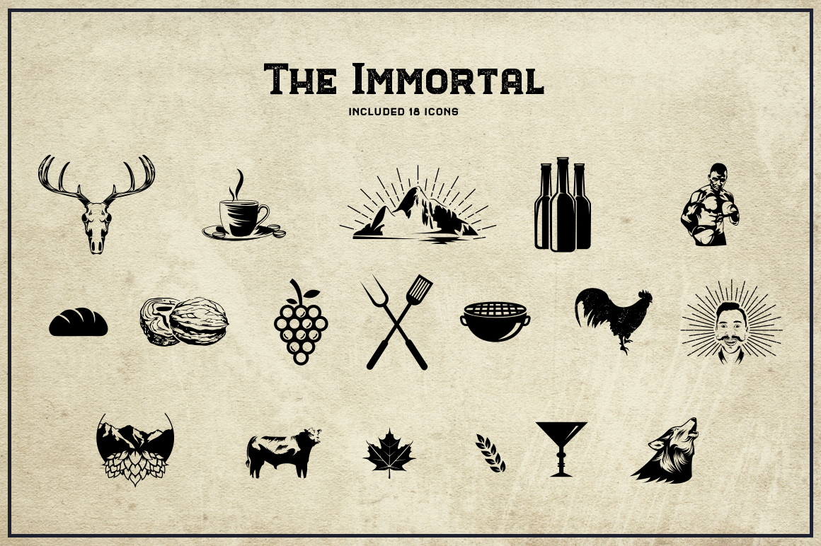 The Immortal // Vintage Collection example image 10