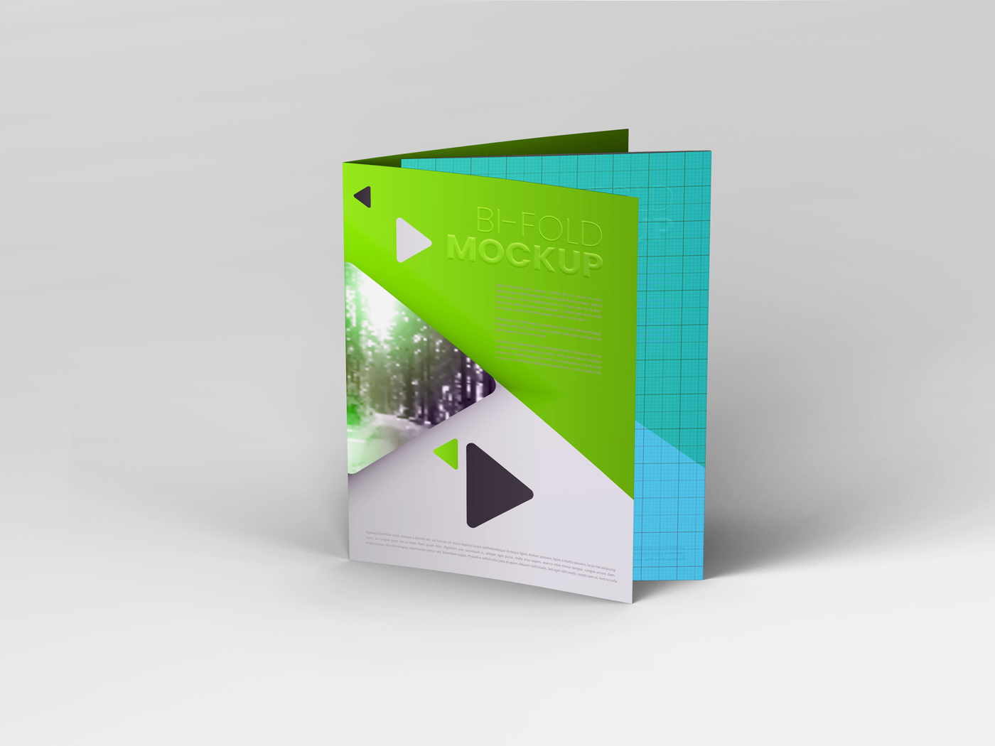 A4 Bifold Mockups V3 example image 20