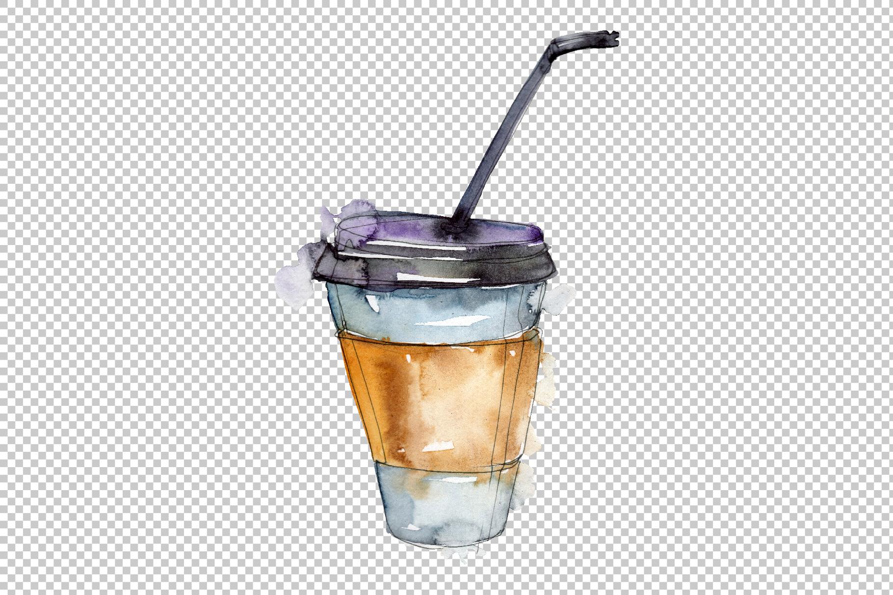 Drinks Juliet Watercolor png example image 6