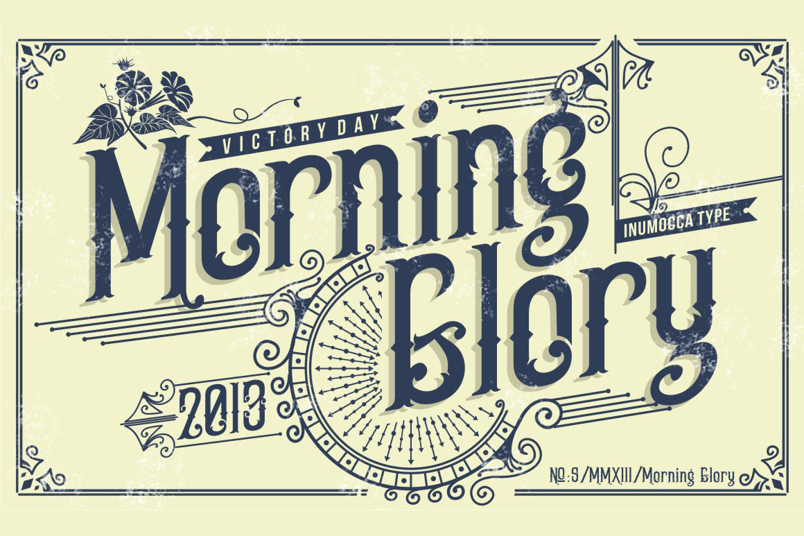 5 Typeface vintage bundle example image 10