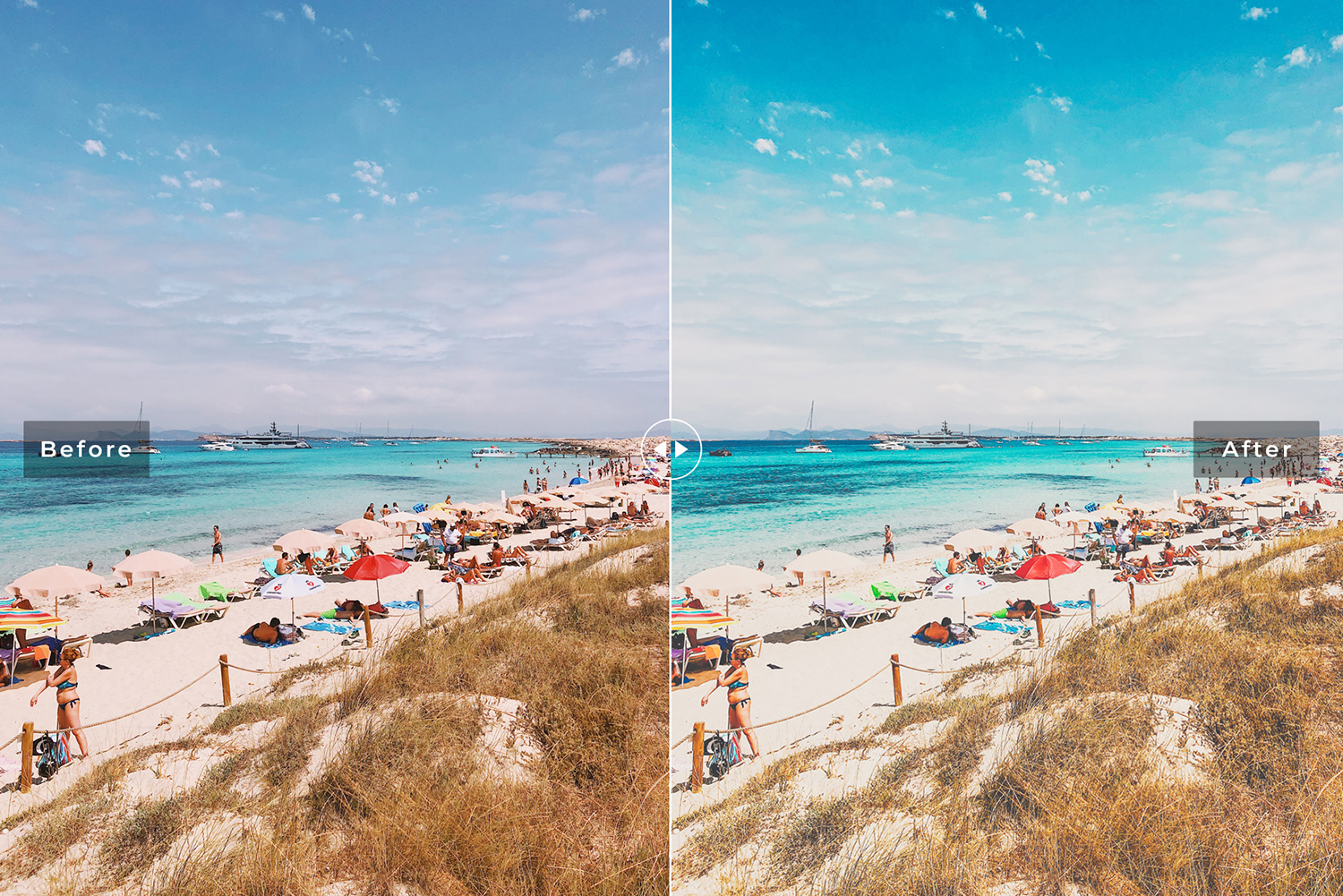 Ibiza Mobile & Desktop Lightroom Presets example image 3